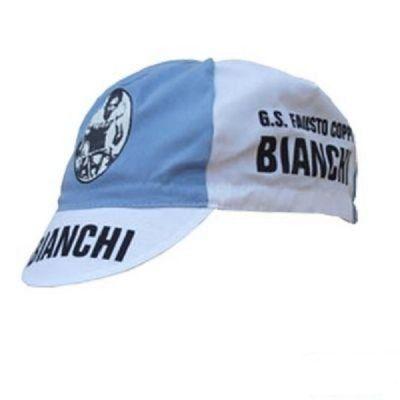 Casquette Equipe Vintage Bianchi Bleu