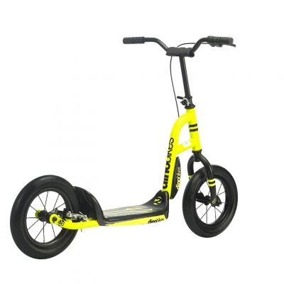Trottinette Dino Bikes Urban Cross 12'' à frein Jaune
