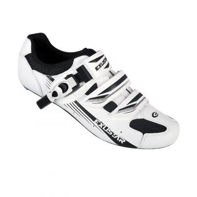 Chaussures route Exustar Sport E-SR4123AB Blanc/Noir