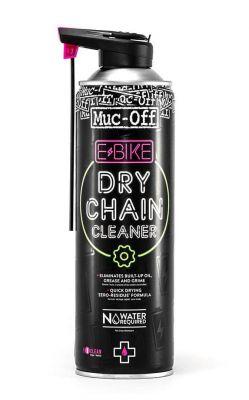 Nettoyant chaîne Muc Off à sec pour Ebike Spray 500 ml