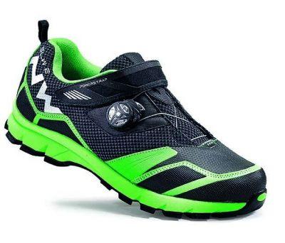 Chaussures Northwave Mission Plus Noir/Vert fluo