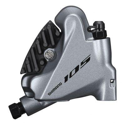 Etrier de Frein Hydraulique Shimano BR-R7070 105 Avec vis de Fixation Ar Argent