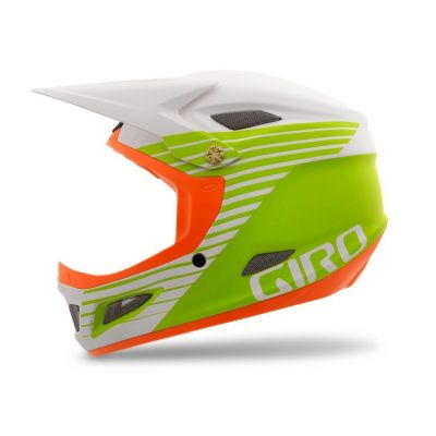 Casque Giro CIPHER blanc mat/vert/orange