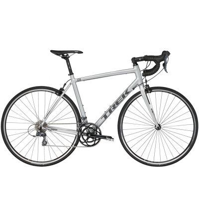 Vélo route Trek 1.1 Compact H2 Gris 2017