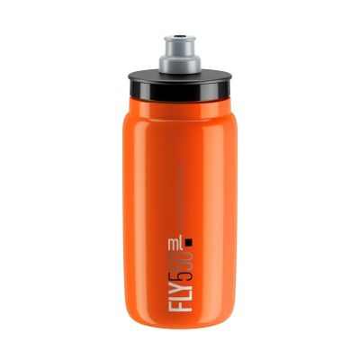 Bidon Elite Fly Logo 550 ml Orange/Noir