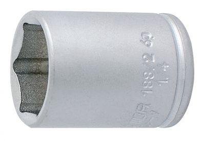 """Douille 1/4"""" Unior 6 pans 12 mm 188/2 6p"""
