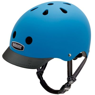 Casque Nutcase Supersolid Street Atlantic Blue
