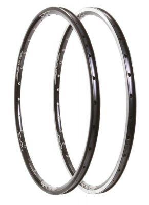 "Cercle 20"" Halo JX-2 20 x 1-13/8 32 rayons noir CNC"