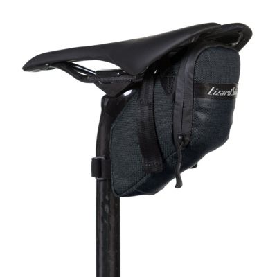 Sacoche de selle Lizard Skins Super Cache Saddle Bag Jet Noir