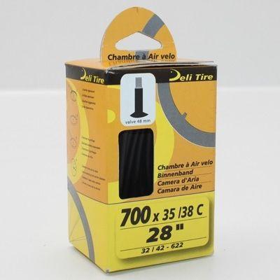 Chambre à air Deli Tire 700 x 35/38C Valve Schrader 45 mm