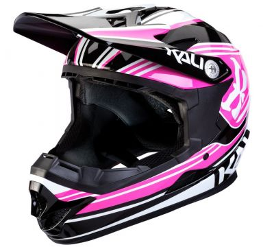 Casque Kali Protectives Zoka Kids Slash Rose/Noir