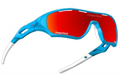 Lunettes Power Race Star Fighter Bleu/Rouge