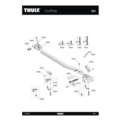 Vis Thule M6x70 561,570 - 50237