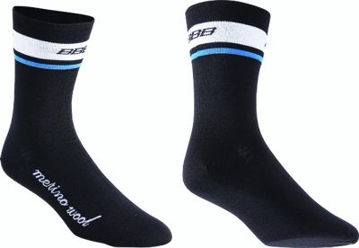Chaussettes hiver BBB MerinoFeet Noir - BSO-12