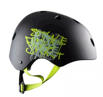 Casque Enfant Polisport Urban Radical Graffiti Noir