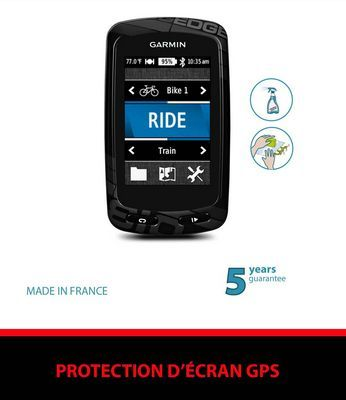 Film de protection ClearProtect pour GPS Garmin Edge 810