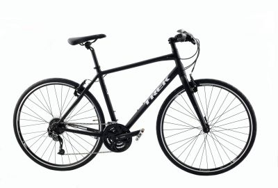 Vélo fitness Trek 7.3 FX (Matte Trek Black/Trek White) 2016