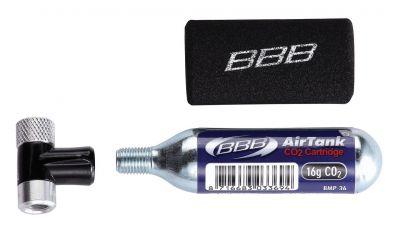 Gonfleur à cartouche CO2 BBB AirSpeed - BMP-32