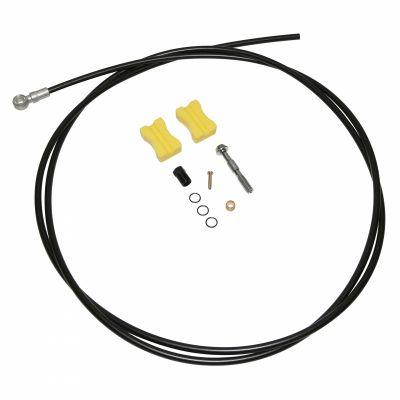Durite hydraulique Shimano Pour frein à disque 1700 mm Embout Court Noir