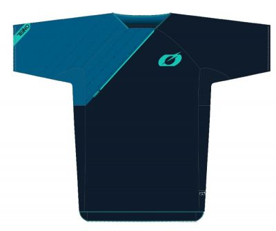 Maillot O'Neal Pin It Bleu/Cyan
