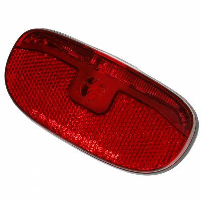 Éclairage AR Spanninga Duxo Xd Fix. porte-bagages 50/80 mm Dynamo Noir