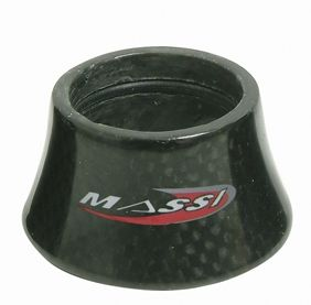 "Entretoise de direction Massi Aero Carbon 1.1/8"" 25 mm"