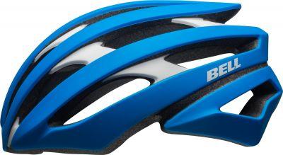 Casque Bell STRATUS mat force bleu/blanc