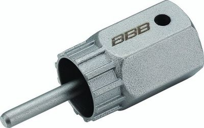 Clé avec guide BBB pour monter et démonter les cassettes Shimano - BTL-107S
