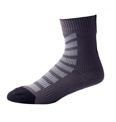 Chaussettes imperméables VTT SealSkinz Ankle Noir/Gris