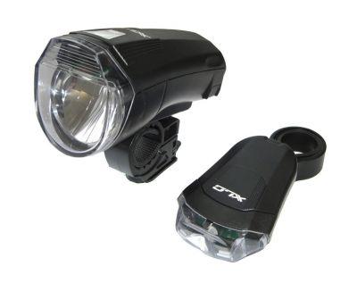 Éclairage AV+AR XLC LED CL-S14 à piles 10 LUX Noir