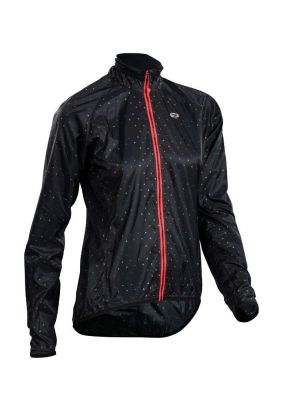 Veste compactable Femme Sugoi RS Jacket Noir/Pois