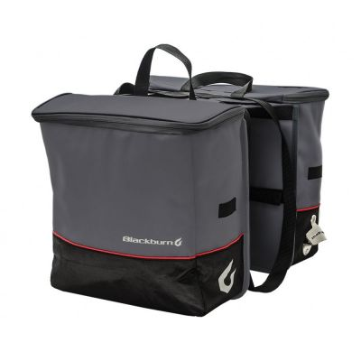 Sacoches arrière isothermes Blackburn Local Cooler Saddlebag 26 L Noir/Gris