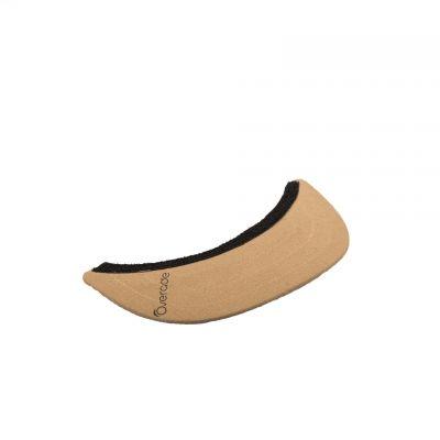 Visière amovible pour casque Overade Plixi Suède Beige