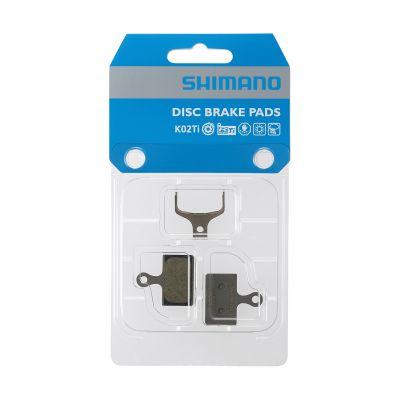 Plaquettes de frein route Shimano K02Ti Titane Organiques