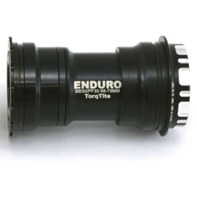 Boitier de pédalier Enduro Bearings TorqTite BBRIGHT BKC-0676 XD-15 BBright / Axe 24 mm Noir