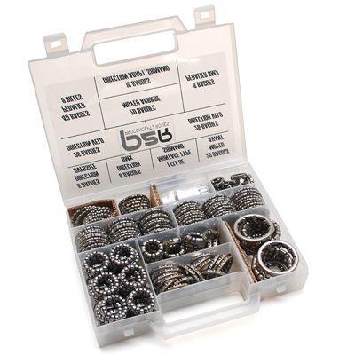 Malette assortiment de cages à billes (168 pièces)