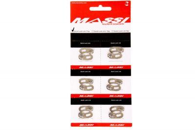 Attache rapide Massi 11V comp. Shimano/Campagnolo/SRAM (x6)