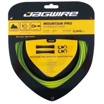 Kit durite hydraulique Jagwire Mountain Pro - Vert Organic
