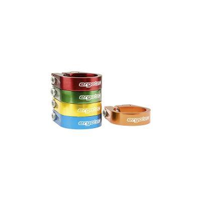 Collier de tige de selle Ergotec 34,9 mm Alu 6061 À visser Vert