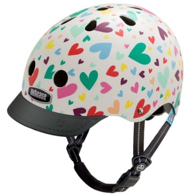 Casque enfant Nutcase Little Nutty Happy Hearts