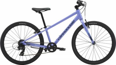 VTC junior Cannondale Quick 24 7V Violet