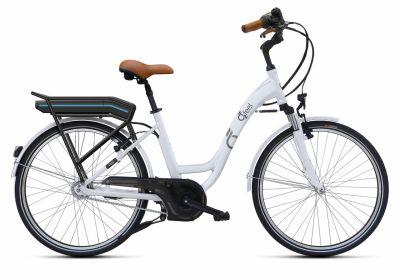 Vélo électrique O2Feel Vog N7 Origin 26'' 374 Wh Blanc