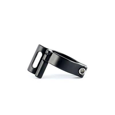 Collier 30.9 mm pour dérailleur avant à braser Noir