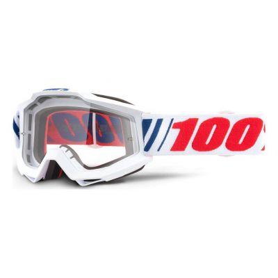 Masque 100% Accuri AF066/Clear