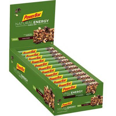 Barre énergétique Powerbar Natural Energy Céréale 40 g Cacao (DLUO Avril 21)