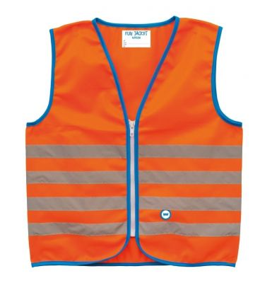 Gilet de sécurité enfant Wowow Fun Jacket Orange réfléchissant
