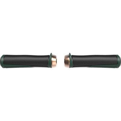 Poignées BBB Cobra lock-on 142 mm Vert/Cuivre - BHG-96