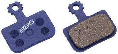 Plaquettes BBB comp. Avid DB1/DB3 organiques - BBS-443