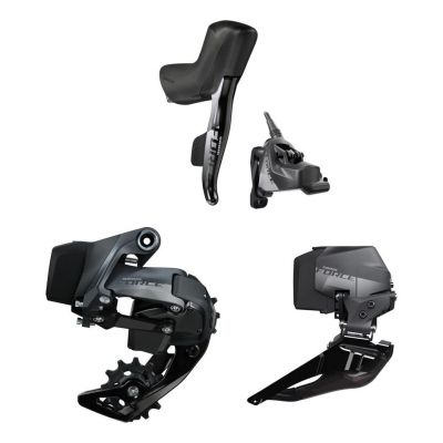Groupe Sram Force AXS Mono Hydraulique Flat Mount Disc 12V