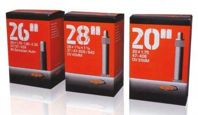 Chambre à air CST 28 x 1.1/8-1.75 Schrader 40 mm